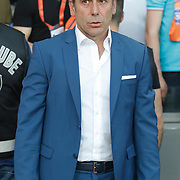 Istanbul Basaksehir's coach Abdullah Avci during their Turkish Super League soccer match Istanbul Basaksehir between Fenerbahce at the Basaksehir Fatih Terim Arena at Basaksehir in Istanbul Turkey on Monday, 25 May 2015. Photo by Aykut AKICI/TURKPIX