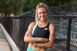 Elle Purrier, Team NB Boston, portrait after racing team time trial
