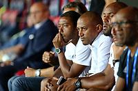 SOCCER : GFC Ajaccio vs Red Star -Coupe de la ligue - 08/22/201<br /> <br /> (GFCA) vs Steve Marlet Directeur Sportif (Red Star)<br /> <br /> Norway only