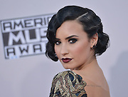 DEMI LOVATO @ the 2015 American Music Awards held @ the Micorsoft theatre.<br /> ©Exclusivepix Media