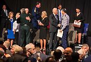 VP Joe Biden at a memorial for law enforment officers in LA