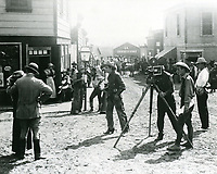 1916 Movie making at American Film Co., Santa Barbara, CA