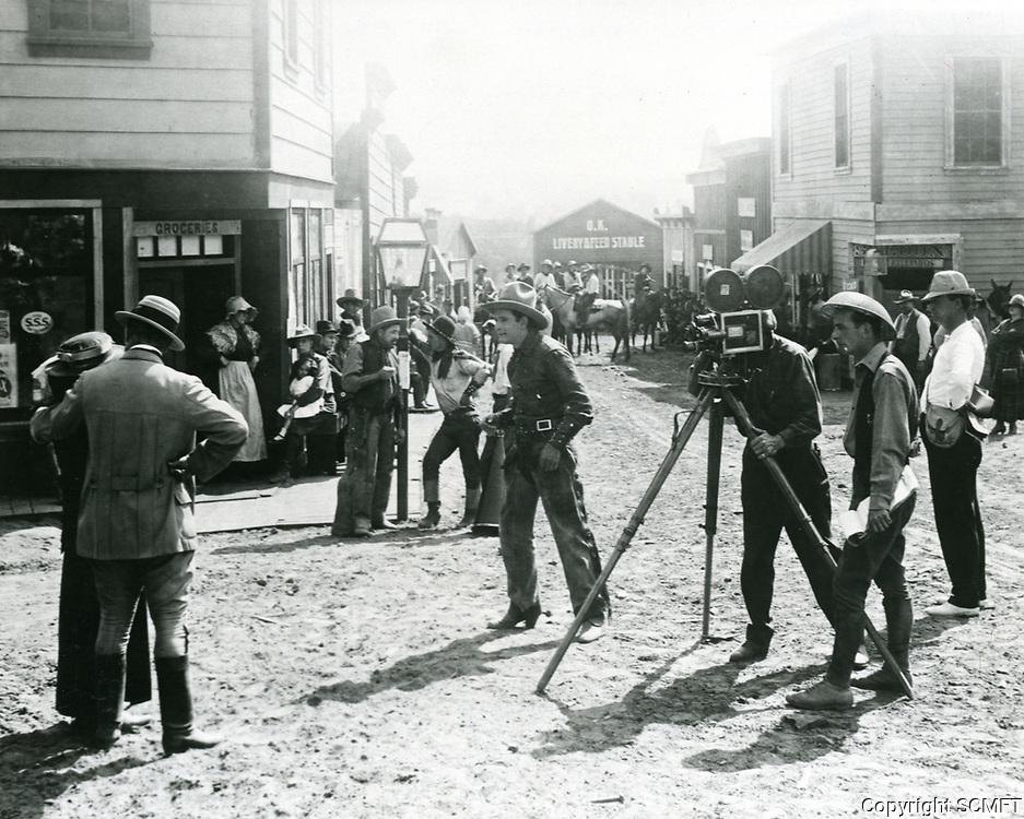 1916 Movie making at American Film Co., Santa Barbara, CA