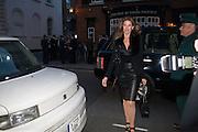 London fundraising dinner for President Barack Obama. <br /> <br /> Mark's Club, 46 Charles Street, London, W1J 5EJ, 19 September 2012