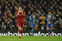 Football - 2019 / 2020 Emirates FA Cup - Fourth Round, Replay: Liverpool vs. Shrewsbury Town<br /> <br /> Liverpool's Pedro Chirivella following a missed chance to score , at Anfield.<br /> <br /> COLORSPORT/TERRY DONNELLY