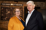 02/04/2019 Repro free:  <br /> Mary Rodgers- Innovation Community Managerat the Portershed  and Sean Cashman Anetco at Harvest in the Mick Lally Theatre , an opportunity to share ideas for innovation and growth and discuss how to cultivate the city as a destination for innovation, hosted by GTC  and Sponsored by AIB and The Sunday Business Post .<br />  <br />  Photo: Andrew Downes, Xposure