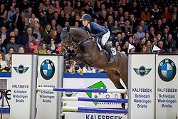 Müller Caroline, GER, Kensington ES<br /> KWPN hengstenkeuring - 's Hertogenbosch 2020<br /> © Hippo Foto - Dirk Caremans<br /> 30/01/2020