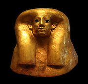 Funerary mask of Hatnefer. Egyptian New Kingdom 18th Dynasty. In 1936, the Museum's Egyptian expedition discovered a rock-cut tomb below the offering chapel of Senenmut, one of Hatshepsut's senior officials. The tomb was for Senenmut's mother, Hatnofer.