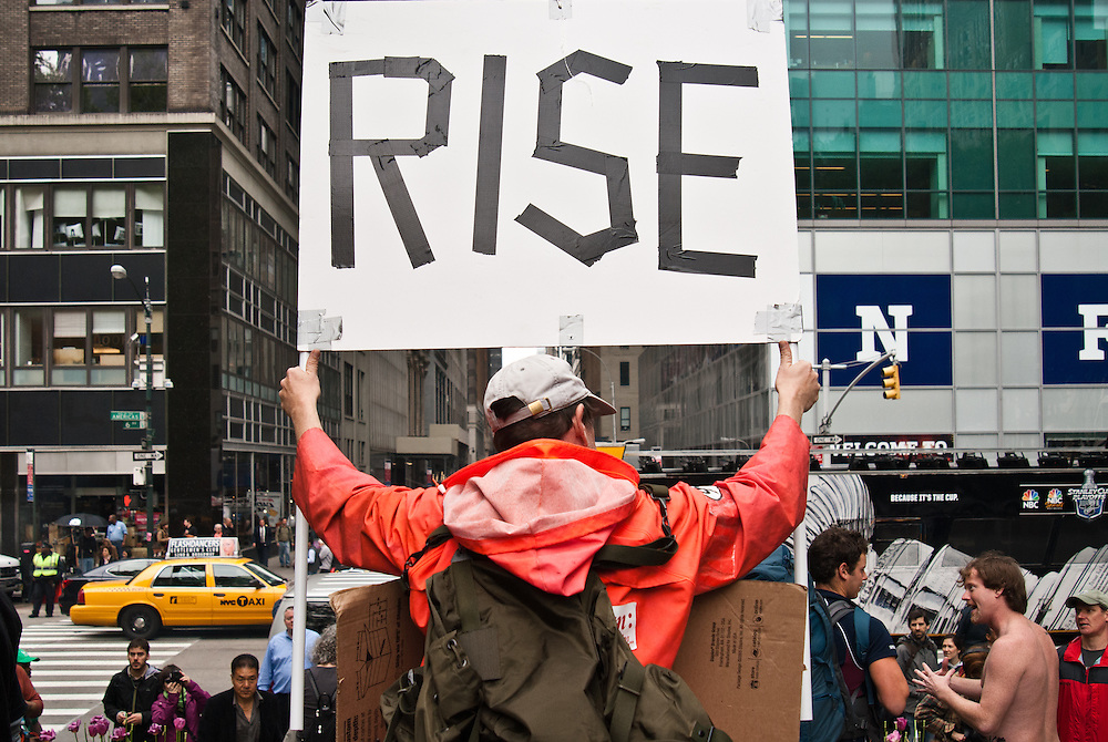 May Day, Occupy Wallstreet Demonstration
