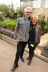 PHILIP TREACEY and ALICE BAMFORD at the 2008 Chelsea Flower Show 19th May 2008.<br /><br />NON EXCLUSIVE - WORLD RIGHTS