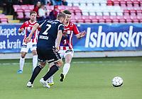 FotballFørstedivisjonTromsø IL vs Kristiansund29.05.2014Joakim Bjerkås, KristiansundThomas Drage, TromsøThomas Kind Bendiksen, TromsøFoto: Tom Benjaminsen / Digitalsport