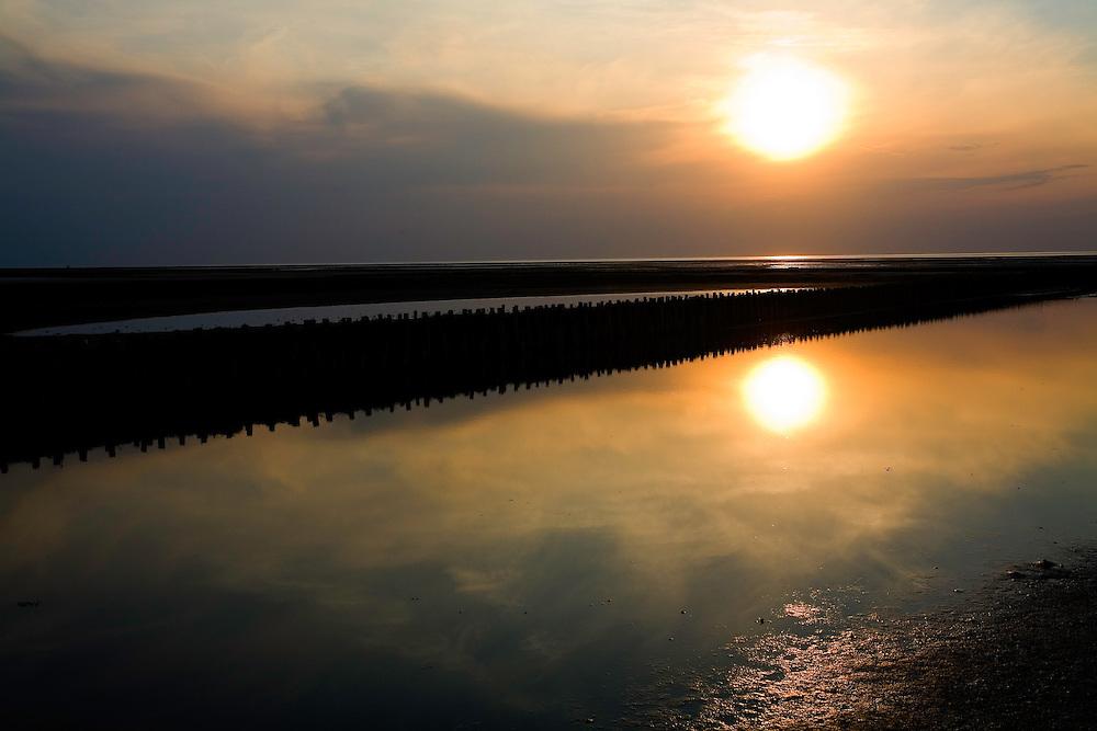 25.04.2009<br /> Sunset<br /> Westerhever, Germany