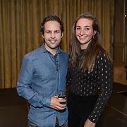 NLD/Amsterdam/20191125 - Boekpresentatie Victor Mids, Victor Mids en partner Myrthe