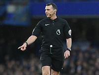 Football - 2016 / 2017 Premier League - Chelsea vs. Swansea City<br /> <br /> Referee Neil Swarbrick at Stamford Bridge.<br /> <br /> COLORSPORT/ANDREW COWIE