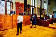 eerste kamer in de ridderzaal