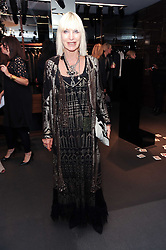 VIRGINIA BATES at a party hosted by InStyle to celebrate the iconic glamour of Dolce & Gabbana held at D&G, 6 Old Bond Street, London on 3rd November 2010.
