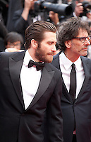 Actor Jake Gyllenhaal and Joel Coen at the Closing ceremony and premiere of La Glace Et Le Ciel at the 68th Cannes Film Festival, Sunday 24th May 2015, Cannes, France.