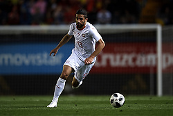 June 3, 2018 - Vila-Real, Castellon, Spain - Ricardo Rodriguez (AC Milan)  during a International friendly match between Spain against Switzerland in La Ceramica Stadium, Villarreal, Spain, on 03 June of 2018. (Credit Image: © Jose Breton/NurPhoto via ZUMA Press)