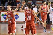 DESCRIZIONE : Roma Lega serie A 2013/14 Acea Virtus Roma Grissin Bon Reggio Emilia<br /> GIOCATORE : Cinciarini Andrea<br /> CATEGORIA : fair play<br /> SQUADRA : Grissin Bon Reggio Emilia<br /> EVENTO : Campionato Lega Serie A 2013-2014<br /> GARA : Acea Virtus Roma Grissin Bon Reggio Emilia<br /> DATA : 22/12/2013<br /> SPORT : Pallacanestro<br /> AUTORE : Agenzia Ciamillo-Castoria/ManoloGreco<br /> Galleria : Lega Seria A 2013-2014<br /> Fotonotizia : Roma Lega serie A 2013/14 Acea Virtus Roma Grissin Bon Reggio Emilia<br /> Predefinita :