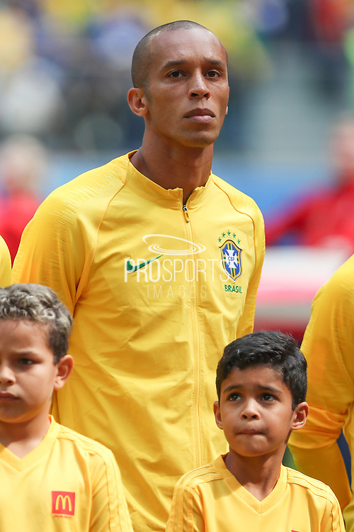 Miranda of Brazil during the 2018 FIFA World Cup Russia, Group E football match between Brazil and Costa Rica on June 22, 2018 at Saint Petersburg Stadium in Saint Petersburg, Russia - Photo Thiago Bernardes / FramePhoto / ProSportsImages / DPPI