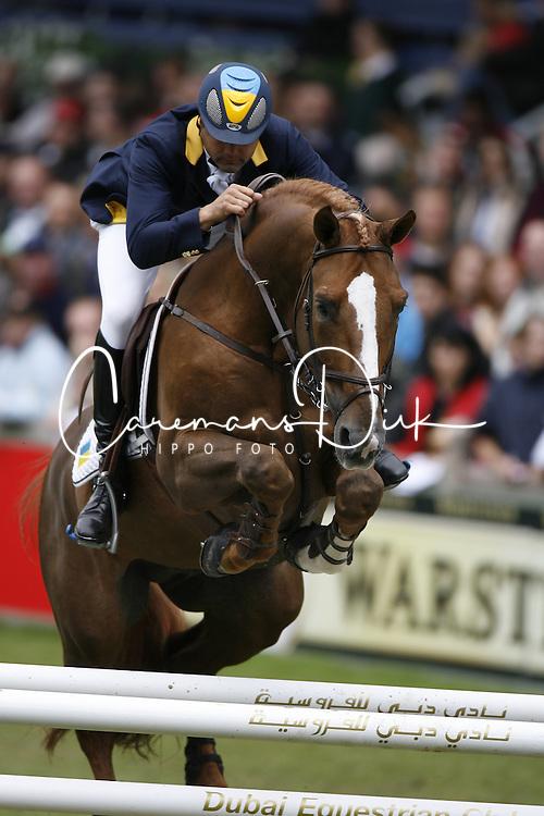 Van Geenberghe Jean Claude (UKR) - Osta Rugs Tresor<br /> World Equestrian Games Aachen 2006<br /> © Hippo Foto-Dirk Caremans