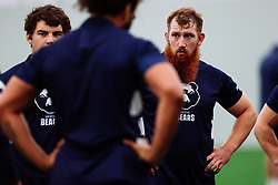 Jake Woolmore looks on as Bristol Bears start to use their new almost completed Training centre - Rogan/JMP - 08/07/2020 - RUGBY UNION - Beggar Bush Lane - Bristol, England.