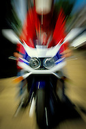 Zooming Motorcycle