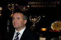 Fotball<br /> England 2004/2005<br /> Foto: SBI/Digitalsport<br /> NORWAY ONLY<br /> <br /> Coventry City Press Conference, 21/01/2005.<br /> <br /> Micky Adams contemplates the task that faces him as he is unveiled as Coventry City's new manager.