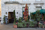 Christmas at the Ivy restaurant in Covent Garden on the 11th December 2018 in London in the United Kingdom.