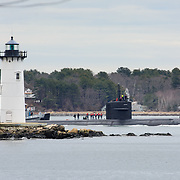 USS Providence Departure
