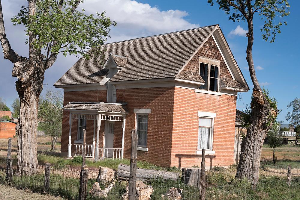 Old house in Escalante, Utah.