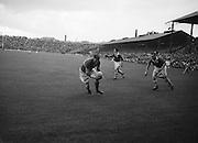 Neg No:.573/7856-7864...15081954AISFCSF...15.08.1954...All Ireland Senior Football Championship - Semi-Final.Kerry.2-6.Galway.1-6