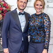 NLD/Amsterdam/20160907 - Inloop Gala van het Nationale Ballet 2016, Lieke van Lexmond en partner Bas van Veggel