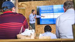 Palestra sobre o manejo sistêmico de Lavouras de Milho associado as tecnologias precisas no Salão do Empreendedor Rural da 39º Expointer - Exposição Internacional de Animais, Máquinas, Implementos e Produtos Agropecuários. FOTO: Alessandra Bruny/ Agência Preview