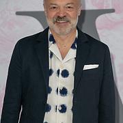 Graham Norton arrives at V&A - summer party, on 19 June 2019, London, UK
