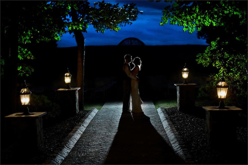 A wedding at the Stroudsmoor Country Inn in Stroudsburg, Pennsylvania.