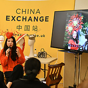 Yuan Li is a Designer's Talk: Wearing Your Heart on Your Head at Winter blossom fair: A celebration of east asian art, craft and design at China Exchange on 10 November 2018, London, UK.