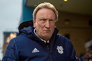 Cardiff City manager Neil Warnock during The FA Cup 3rd round match between Gillingham and Cardiff City at the MEMS Priestfield Stadium, Gillingham, England on 5 January 2019. Photo by Martin Cole.