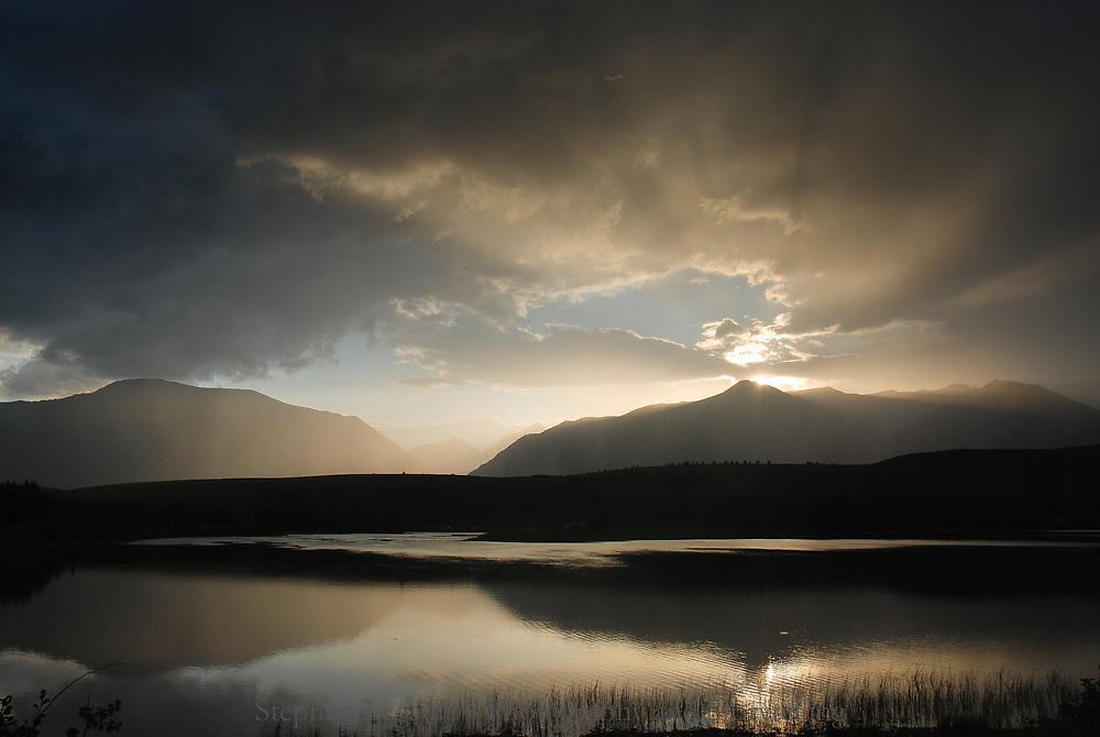 Maskanage Lake, Crandall Mountain, Waterton Lakes National Park