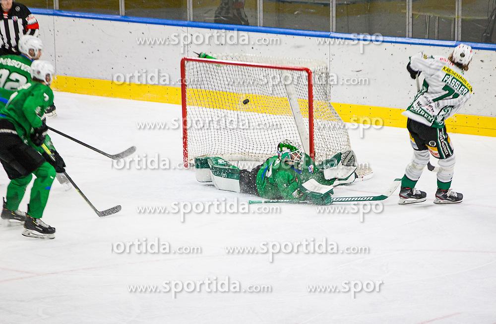 71# Fassler Kai of EC Bregenzerwald during the match of Alps Hockey League 2020/21 between HK SZ Olimpija Ljubljana vs. EC Bregenzerwald, on 09.01.2021 in Hala Tivoli in Ljubljana, Slovenia. Photo by Urban Meglič / Sportida