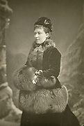 'Helena Augusta Victoria (1846-1923) fifth child of Queen Victoria, pictured c1890,known as Princess Christian. In 1866 married to Prince Christian of Schleswig-Holstein.'