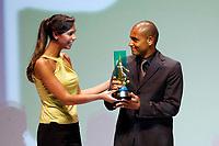 """20091207: RIO DE JANEIRO, BRAZIL - Brazilian Football Awards 2009 (""""Craque Brasileirao 2009""""), held at the Museum of Modern Art in Rio de Janeiro. In picture: Jonathan (Cruzeiro) - Best right defender. PHOTO: CITYFILES"""