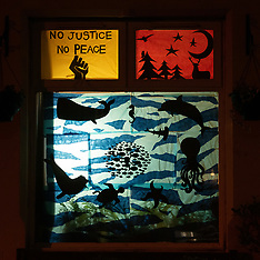 Portobello Window Wanderland, Edinburgh, 11 December 2020