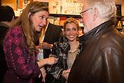 Alba Arikha  book launch for 'Soon' , Daunt's Holland Park.. London. 17 September 2013. ALBA ARIKHA; LISA DWAN; HUGH HUDSON, Alba Arikha  book launch for 'Soon' , Daunt's Holland Park.. London. 17 September 2013.