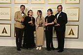 April 25, 2021 - CA: The Academy 93rd Oscars® On ABC - Press Room