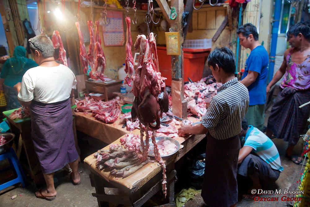 Sheep Parts For Sale, Gyee Zai Market