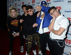 2017 iHeartRadio Music Festival - Day1. 22 Sep 2017 Pictured: PRETTYMUCH. Photo credit: MEGA TheMegaAgency.com +1 888 505 6342