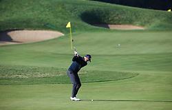 Oct 19, 2018-Jeju, South Korea-ADAM SCOTT of Australia action on the 11th green during the PGA Golf CJ Cup Nine Bridges Round 2 at Nine Bridges Golf Club in Jeju, South Korea.