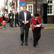 NLD/Naarden/20070406 - Mattheus Passion 2007, Sharon Dijksma en partner Thomas Windmulder