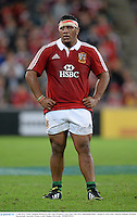 8 June 2013; Mako Vunipola, British & Irish Lions. British & Irish Lions Tour 2013, Queensland Reds v British & Irish Lions, Suncorp Stadium, Brisbane, Queensland, Australia. Picture credit: Stephen McCarthy / SPORTSFILE